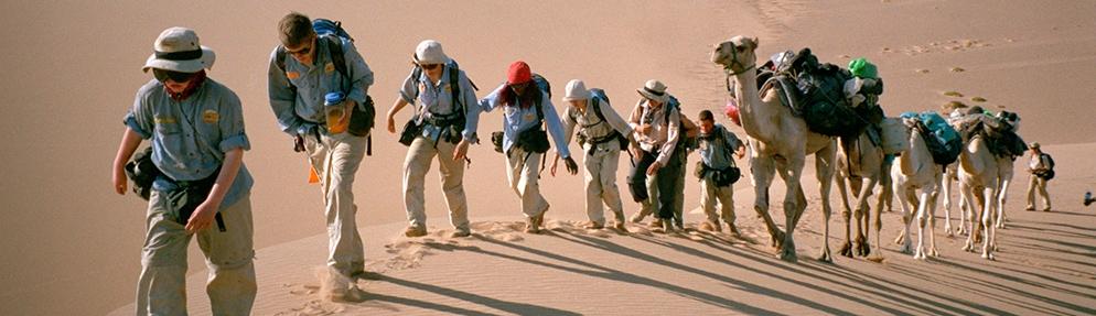 Les petits aventuriers du désert