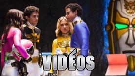 Les vidéos des Power Rangers