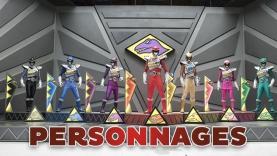 Les personnages de la série Power Rangers Dino Charge sur Gulli