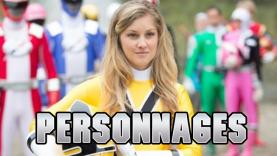 Les Personnages de Power Rangers.