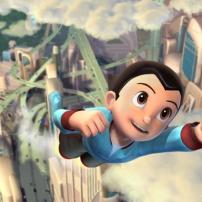 Astro Boy en plein vol !