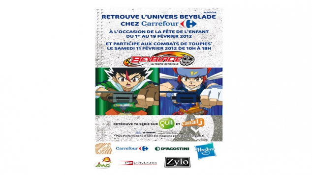 Beyblade dans ton centre commercial