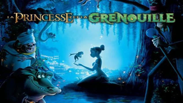 DVD La princesse et la grenouille