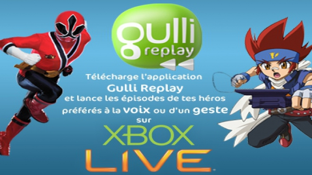 Gulli Replay sur Xbox