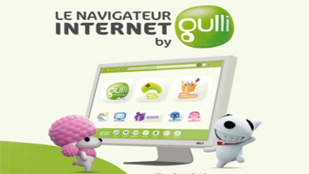 Les écrans du navigateur by Gulli