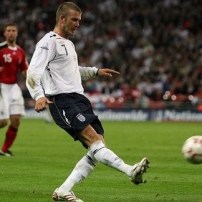 David Beckham, star du foot anglais