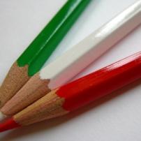 Crayons tricolores