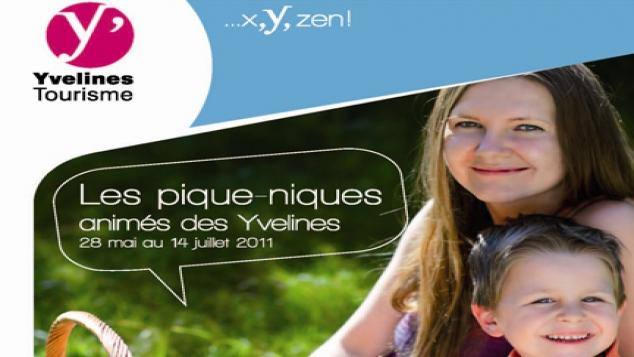 Les pique-niques animés des Yvelines reviennent !