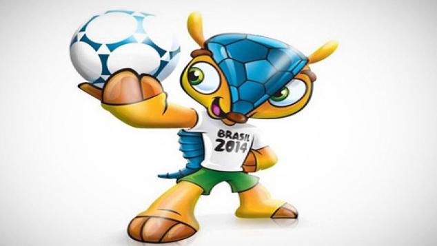 Les équipes disputeront le Mondial du 12 juin au 13 juillet, sous le regard de la mascotte Fuleco.