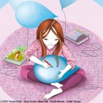 Ecrire sur un ballon