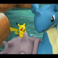 Pikachu sur le dos d'un Locklass
