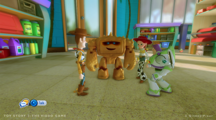 A la cr che le mode histoire toy story 3 le jeu - Monster buster club jouet ...