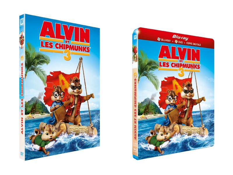 Alvin Et Les Chipmunks 3 Débarque En DVD !