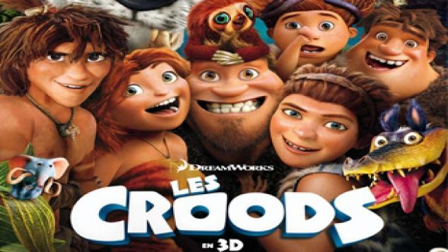 Les Croods au ciné le 10 avril