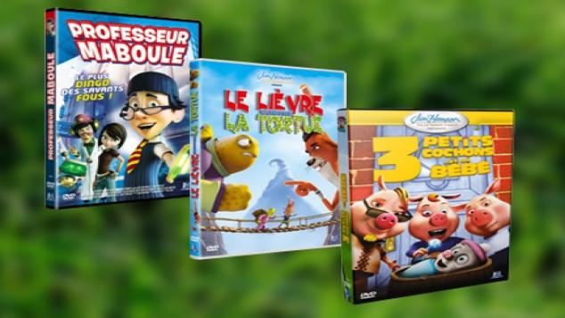 Des contes de Noël revisités en DVD