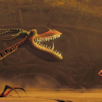 Dragon contre viking