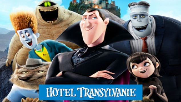Les personnages de Hotel Transylvanie