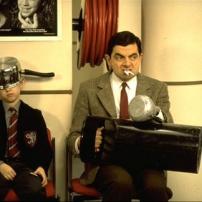 Mr Bean très agité