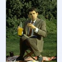 Mr Bean pique-nique