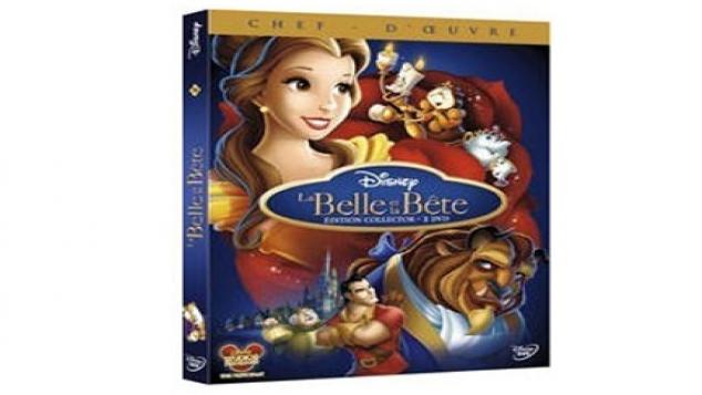 La Belle et la Bête en DVD