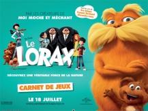 carnet de jeux Le Lorax