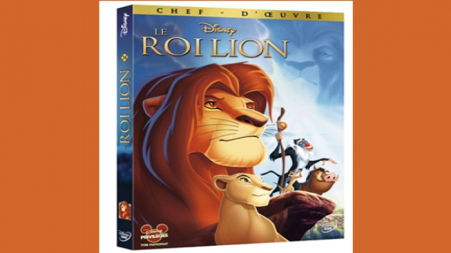 Le roi lion en dvd et blue ray