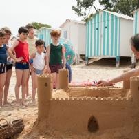 Les Vacances du Petit Nicolas - Le château de sable