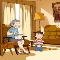 Ma Maman est en Amérique, elle a rencontré Buffalo Bill - Mamie Simone