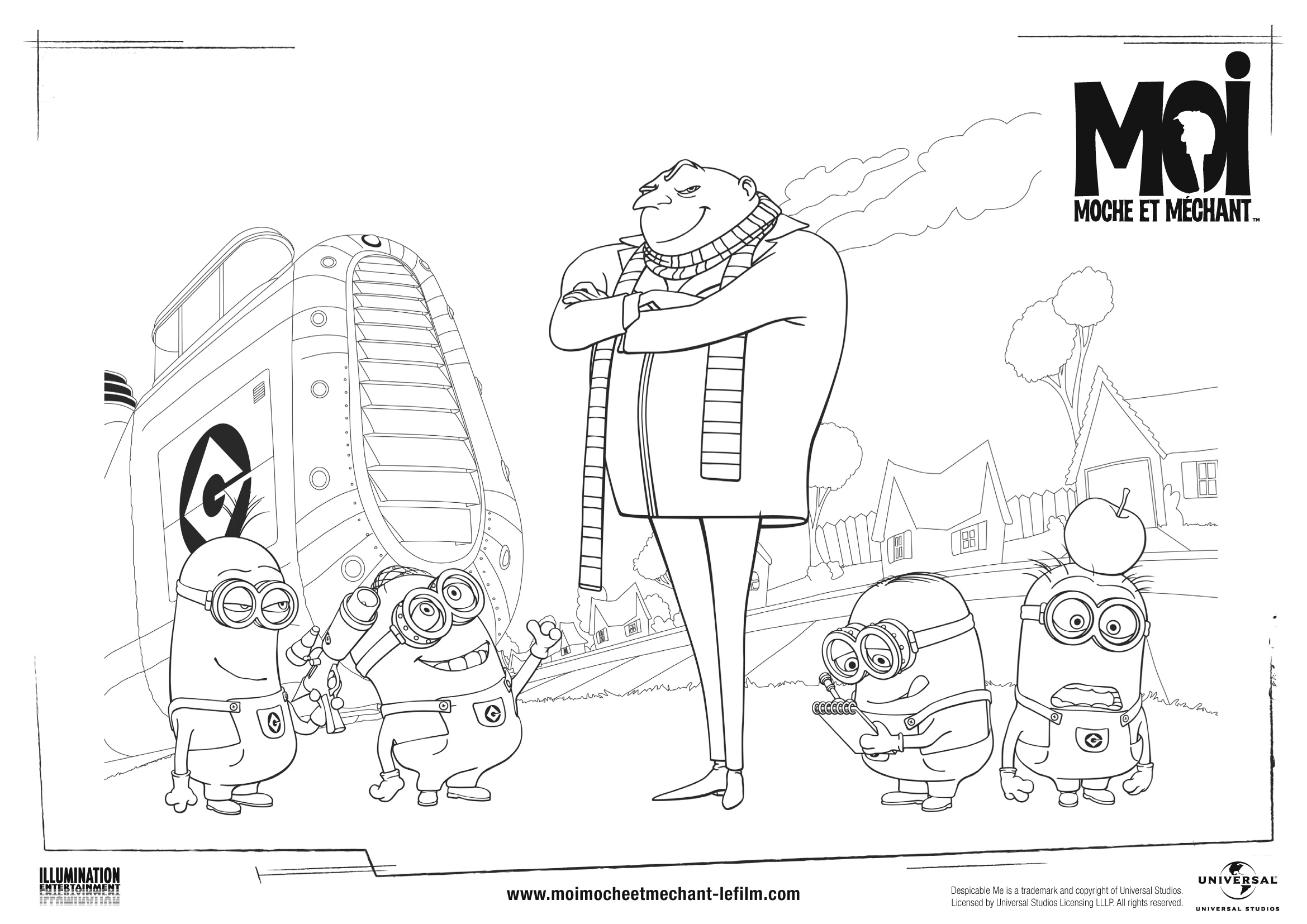 Coloring pages to print minions - Coloring Pages To Print For Minions Minions Coloring Pages Print Coloring Pages Despicable Minions Coloring