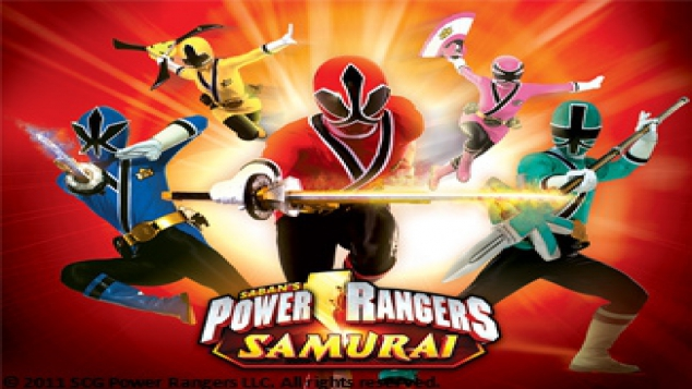 Power Rangers Samuraï en DVD