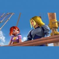 Boom et son père sur le bateau