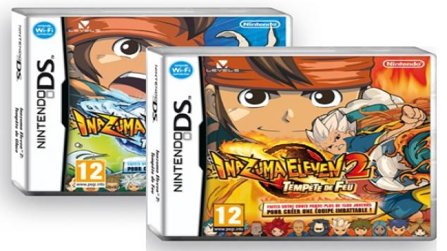 Inazuma Eleven 2 : Tempête de Feu et Tempête de Glace