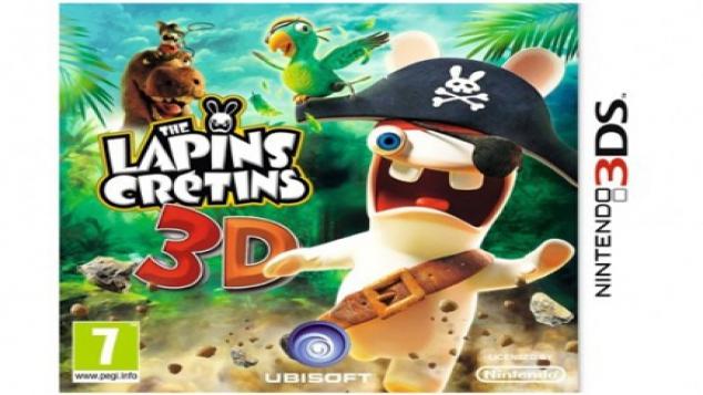 Les lapins crétins sur Nintendo 3DS