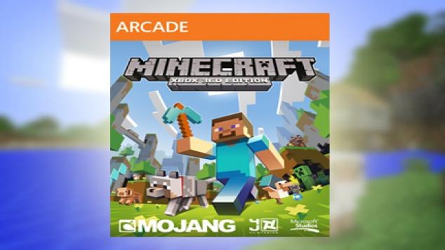 Minecraft débarque sur Xbox 360 !