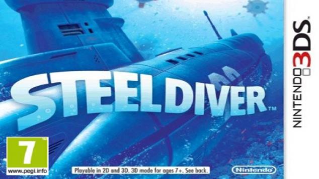 Steel Diver sur Nintendo 3DS