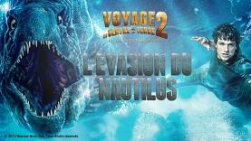Voyage au Centre de la Terre - L'Evasion du Nautilus