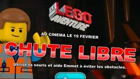 Jeu La Grande Aventure LEGO® - Chute Libre