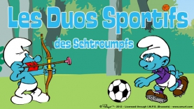 Les Duos sportifs des Schtroumpfs