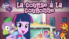 jeu My Little Pony - Esquestria Girls - La course à la couronne