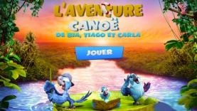 Jeu Rio 2 - l'aventure en canoë