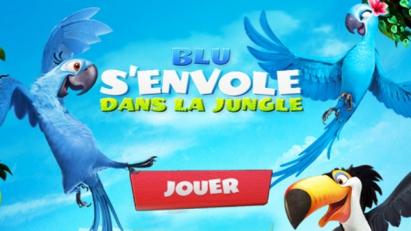 Blu s'envole dans la jungle