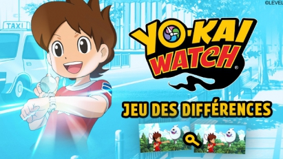 Jeu des différences Yo-kai Watch