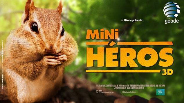 Mini Héros : en exclu à la Géode