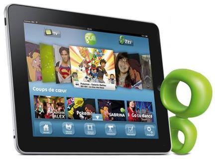L'iPad et le G de Gulli