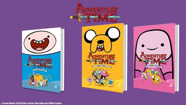 Adventure Time : ta série préférée enfin disponible en BD !
