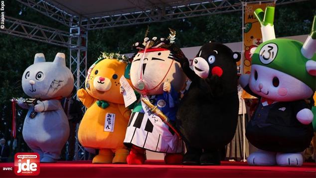 Au Japon, les mascottes ont la cote
