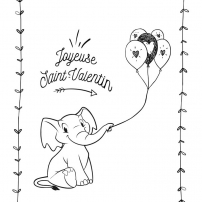 Une jolie carte pour la Saint-Valentin