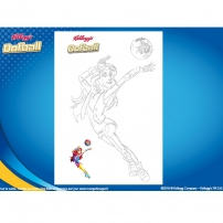 Coloriage Oofball 5