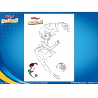 Coloriage Oofball 7