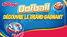 Grand gagnant concours Oofball de Kellogg's